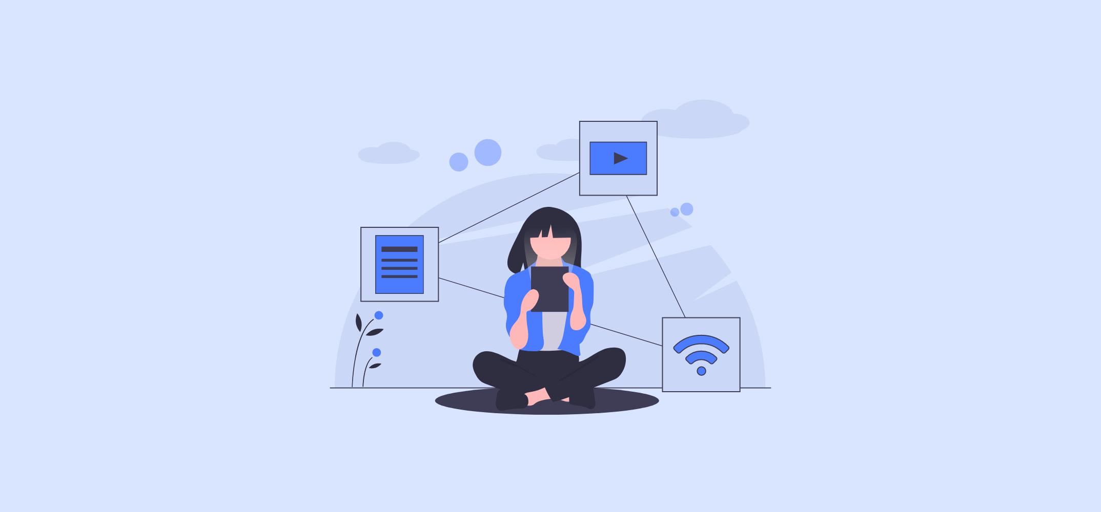 Рекламные возможности при подключении к Wi-Fi позволяют коммуницировать с пользователем