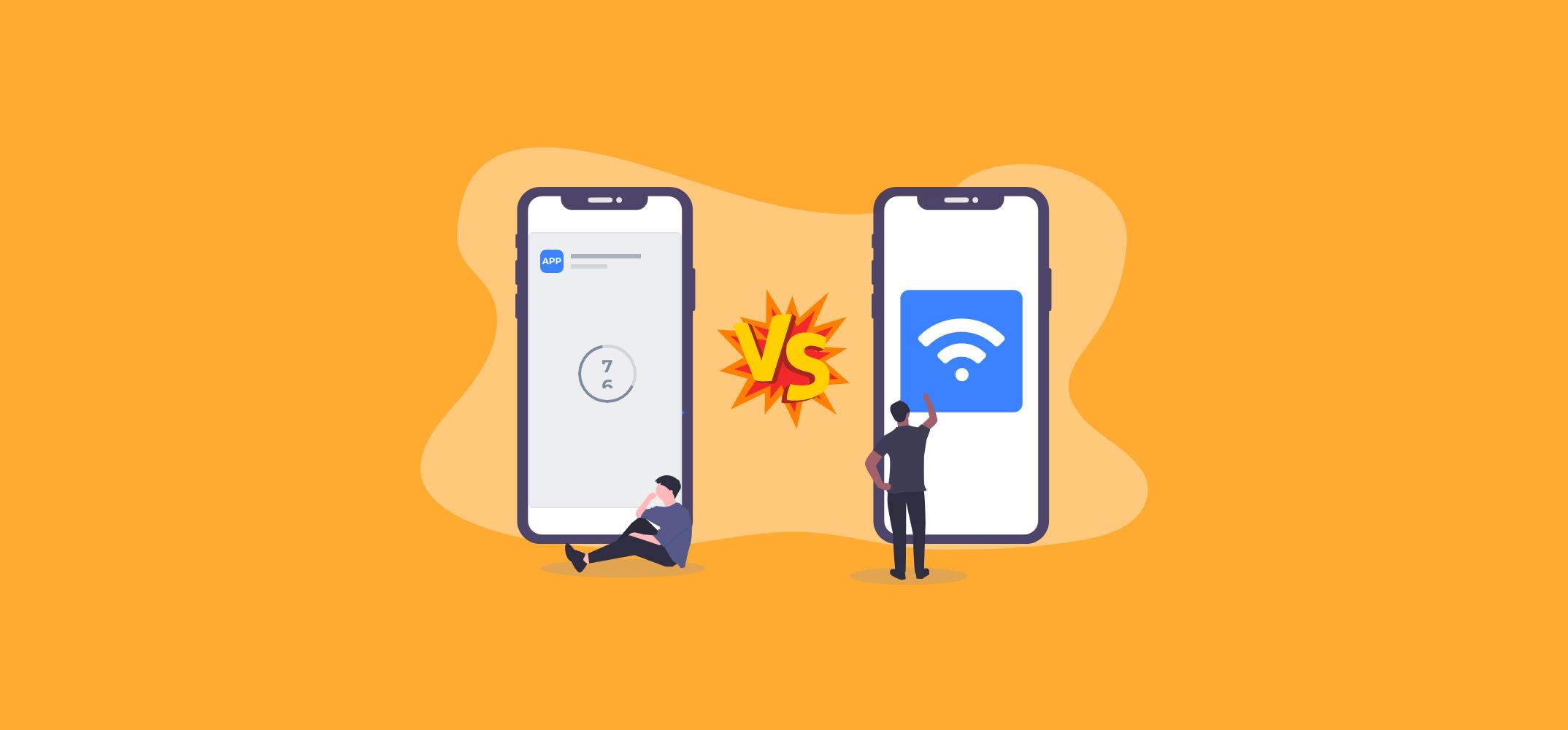 Реклама в мобильных приложениях против рекламы на Wi-Fi